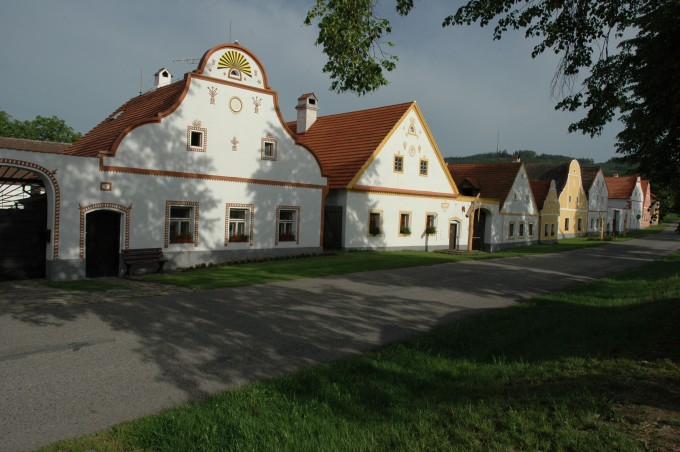 Peasant baroque in Holašovice